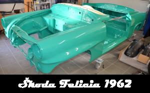 Škoda Felicia 1962